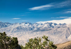 Eastern Sierra Nevada View Stock Images