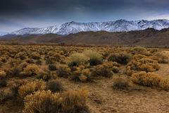 Eastern Sierras Stock Photo