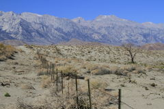 Eastern sierras California Royalty Free Stock Images