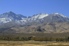 Eastern sierras California Stock Photo