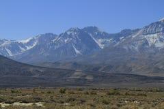 Eastern sierras California Stock Image