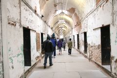 Old Penitentiary in Philadelphia,Pennsylvania royalty free stock photos
