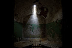 Eastern State Penitentiary cell Stock Photo