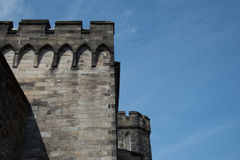 Eastern State Penitentiary Guard Tower Royalty Free Stock Photos