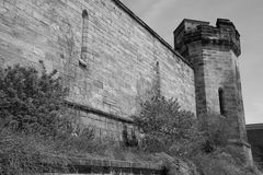 Eastern State Penitentiary Guard Tower Royalty Free Stock Photo