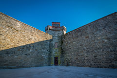 Eastern State Penitentiary Prison Wall Royalty Free Stock Photo