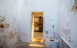 Eastern State Penitentiary Toilet Royalty Free Stock Photos
