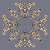 Eastern style paisley pattern Royalty Free Stock Image