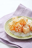 Eastern sweet with sesame Royalty Free Stock Photo
