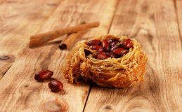 Eastern sweetness with peanuts Royalty Free Stock Image