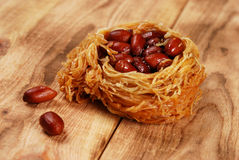 Eastern sweetness with peanuts Stock Photography