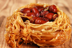 Eastern sweetness with peanuts Stock Photos