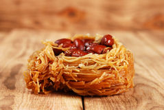 Eastern sweetness with peanuts Royalty Free Stock Images