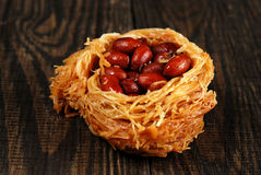 Eastern sweetness with peanuts Stock Images