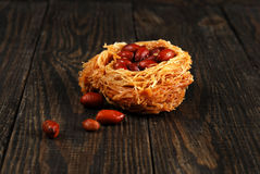 Eastern sweetness with peanuts Royalty Free Stock Photo
