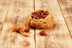 Eastern sweetness with peanuts Royalty Free Stock Photos