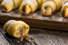Eastern sweets. Biscuits with ground hazelnuts Royalty Free Stock Photography