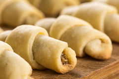 Eastern sweets. Biscuits with ground hazelnuts Stock Photos