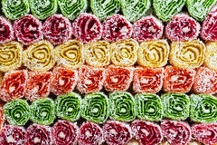Eastern sweets. Side view. Delicacy Royalty Free Stock Photography