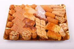 Eastern sweets. A variety of eastern sweets Royalty Free Stock Photography