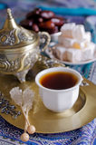 Eastern Tea Party Royalty Free Stock Image