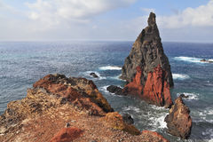 The eastern tip of the island of Madeira Stock Photography