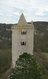 Eastern tower of Zaaleck fortress. Saxony-Anhalt, Germany Royalty Free Stock Images