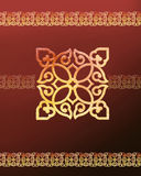 Eastern tradition flower pattern Stock Photo