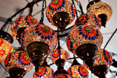 Eastern traditional lamp Royalty Free Stock Photos