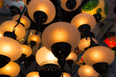 Eastern traditional lamp Royalty Free Stock Photography