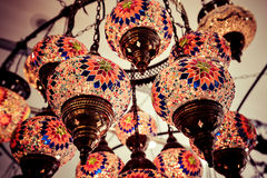 Eastern traditional lamp Stock Photography