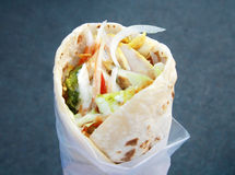 Eastern traditional shawarma Stock Photography