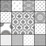 Eastern vector backgrounds seamless patterns Stock Image
