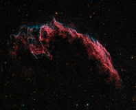 Eastern Veil Nebula Royalty Free Stock Images