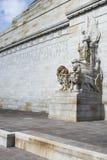 Eastern Wall, Shrine of Remembrance, Melbourne, Australia. Stock Photos