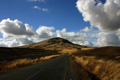 Eastern Washington road Stock Photography