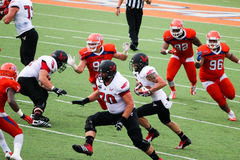 Eastern Washington vs. Sam Houston State. FCS playoff game in Huntsville, Texas Stock Photo