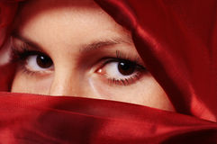 Eastern woman Stock Images
