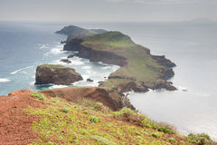 The easternmost part of Madeira Island, Portugal Stock Photos