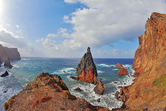 Free Easternmost Tip Of Madeira Royalty Free Stock Photos - 25969388