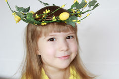 Easters child Royalty Free Stock Image
