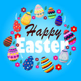 Easters felice Fotografie Stock