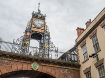 Eastgate clock in Chester, England Royalty Free Stock Photography