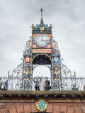 Eastgate clock in Chester, England Stock Photo