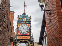 Eastgate clock in Chester, England Stock Images
