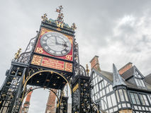 Eastgate clock in Chester, England Stock Image