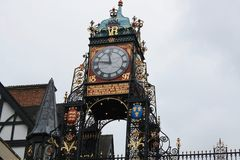 Eastgate Clock, Chester, England Stock Image