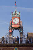 Eastgate Clock Chester Stock Images