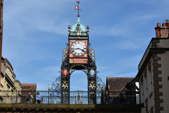 Eastgate clock Chester Stock Photo