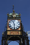 Eastgate clock tower in Chester, England, UK Royalty Free Stock Image